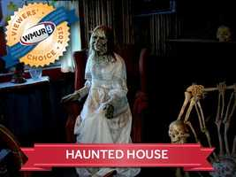 This week, we asked our viewers where to find the best haunted house in New Hampshire. Take a look at the top responses!