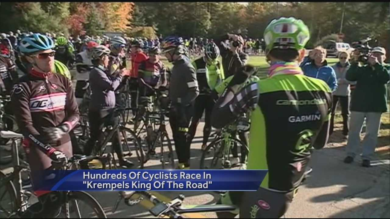 Cyclists race to raise money for the Krempels Center in Portsmouth.