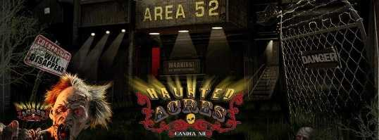 6. Haunted Acres in Candia