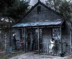 4 tie. Nosaelg Haunted Haven in Kensington
