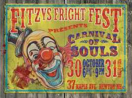 4 tie. Fitz's Fright Fest in Newton