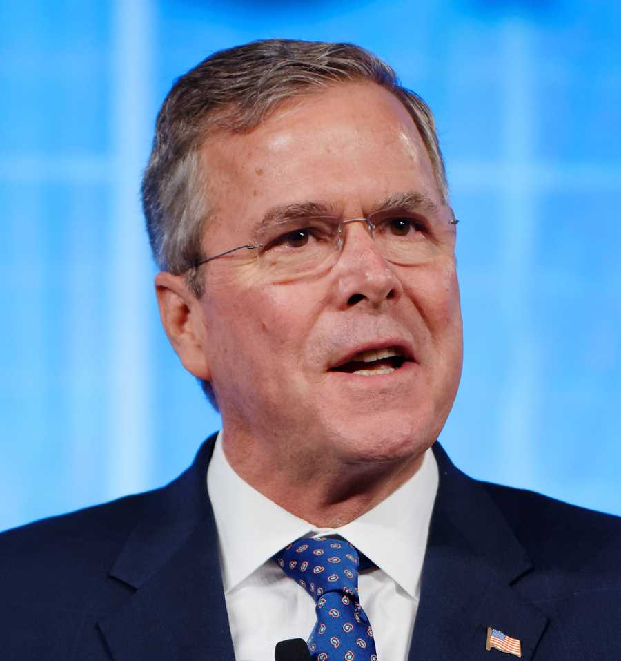 How tall is Jeb Bush? According to Google, he is 6 feet 3 inches tall.