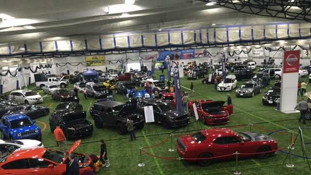 Spectators Checked Out Cool Cars At NH Auto Show Sunday - Nh car show bedford