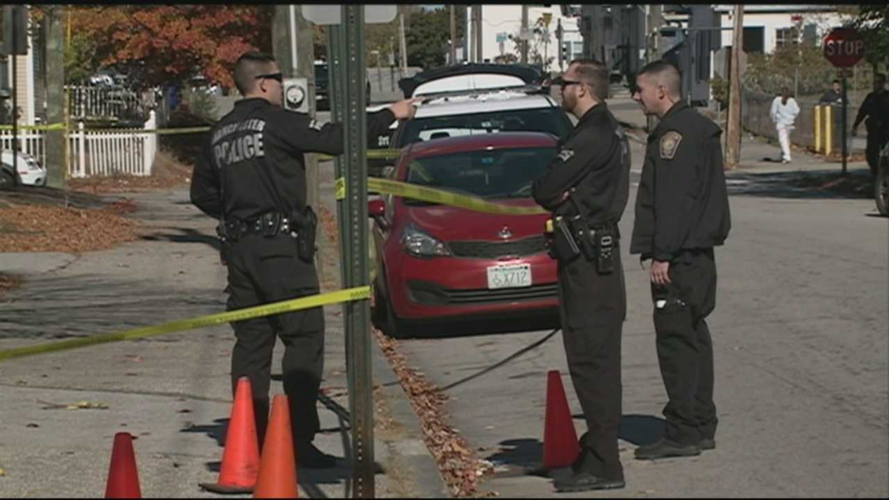 A man was injured in a midday shooting Monday in downtown Manchester.