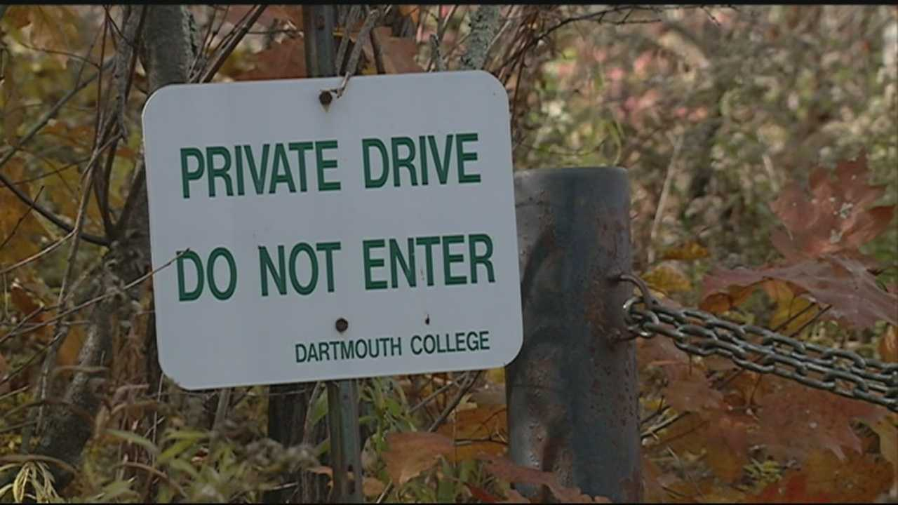 A chemical from a former animal burial ground used by Dartmouth College Medical School has seeped into a private well.