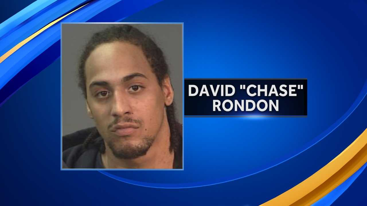 "Manchester police are searching for David ""Chase"" Rondon, who they say shot another man in the foot on Monday."