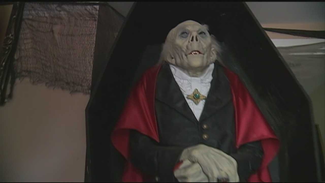 Chief Meteorologist Mike Haddad is in Kensington, getting spooked at Haunted Haven.