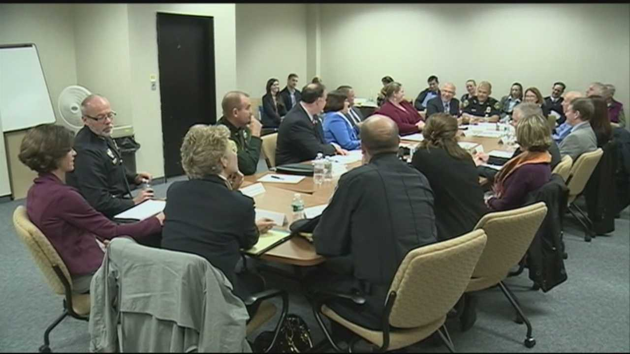 New Hampshire elected officials, law enforcement and members of the medical community got together in concord to discuss how to tackle the heroin epidemic.