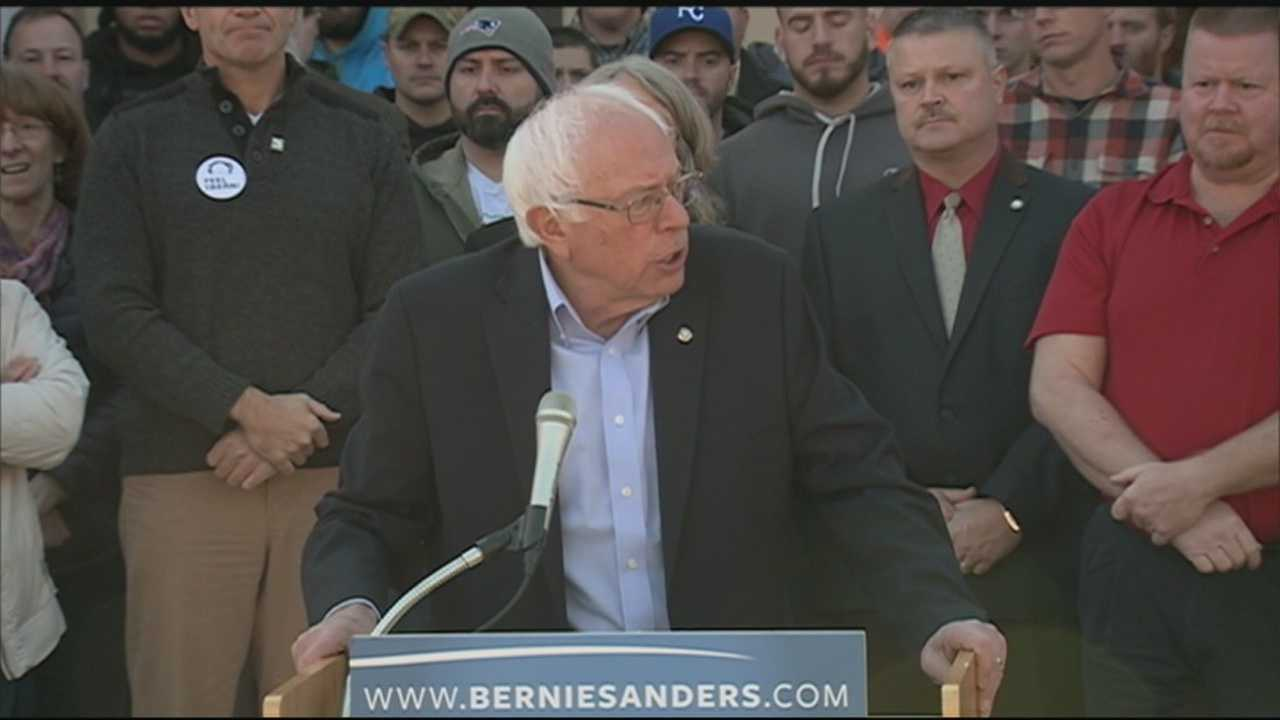 Leaders of three New Hampshire unions announced their endorsement of Senator Bernie Sanders in the Democratic presidential primary.