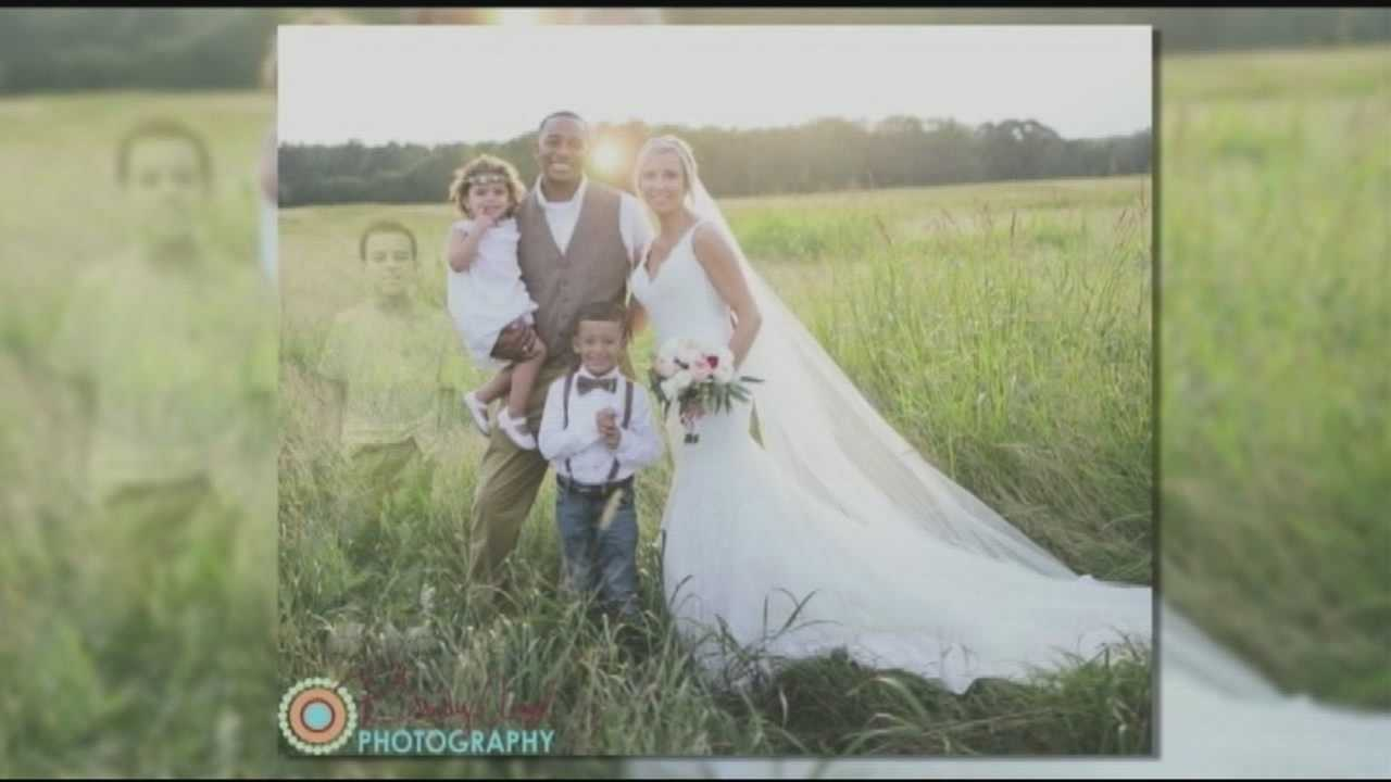 A Georgia bride asked her wedding photographer to superimpose her son, who died of leukemia earlier this year, into her wedding photos.
