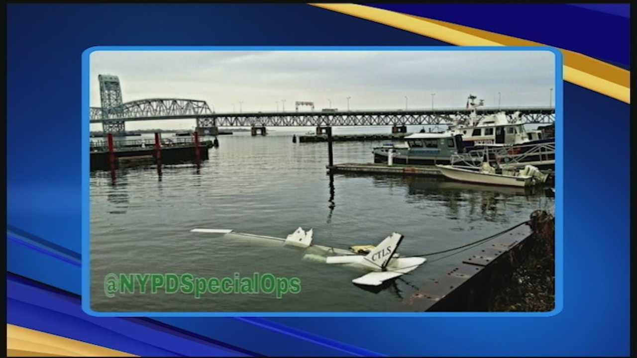 One body was recovered after a small plane registered in New Hampshire crashed about a mile and a half off Breezy Point in Queens, New York, on Wednesday night.