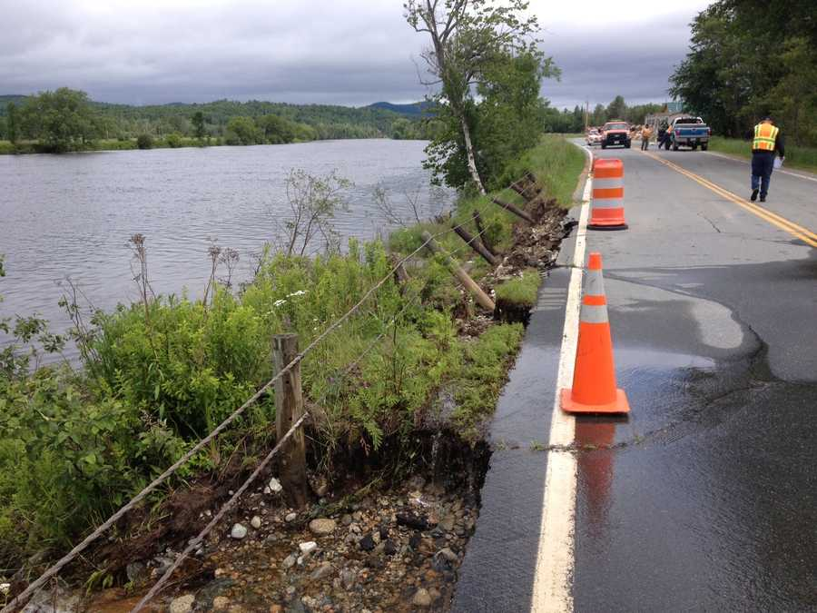 In September, it was shut down because of a slope failure, created by flooding along the Connecticut River.