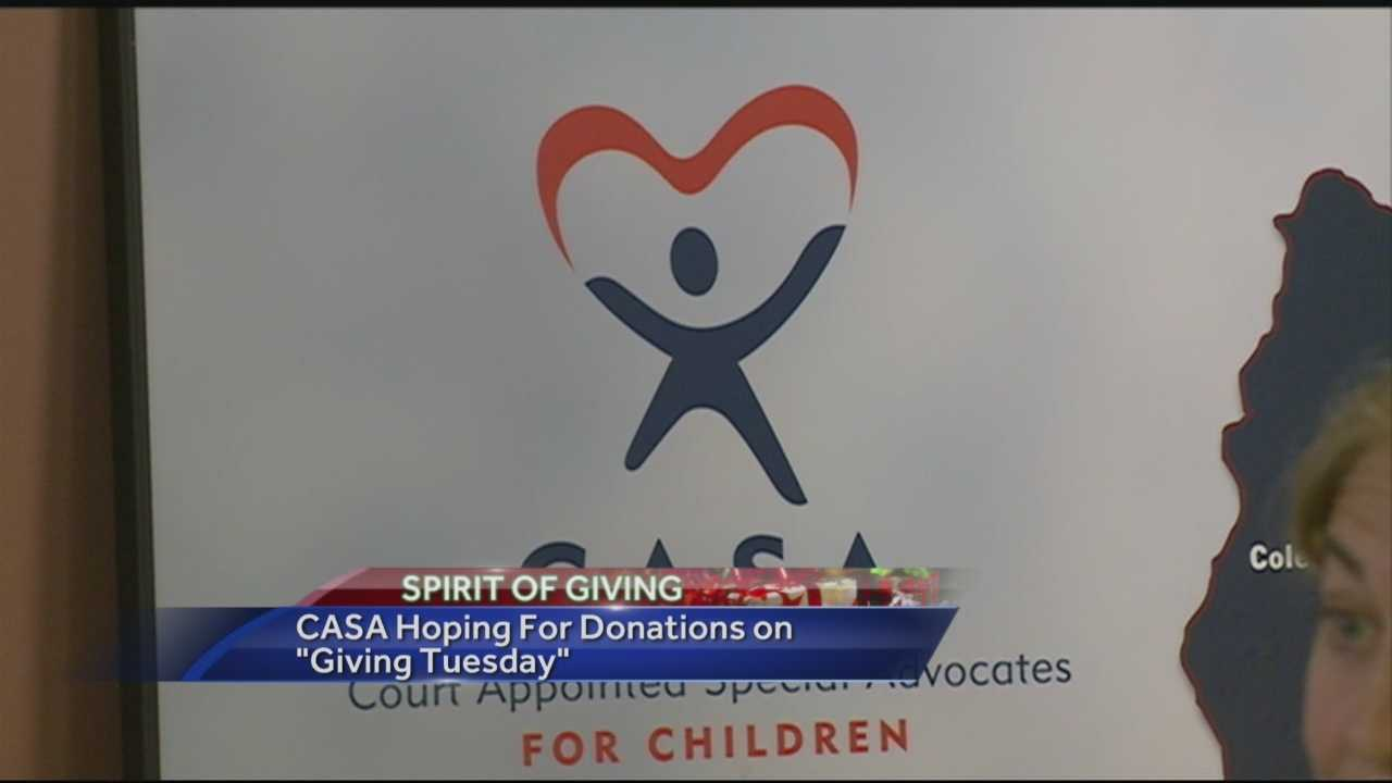 The season of giving is fast approaching, and WMUR is kicking off its Spirit of Giving tradition with CASA of New Hampshire.