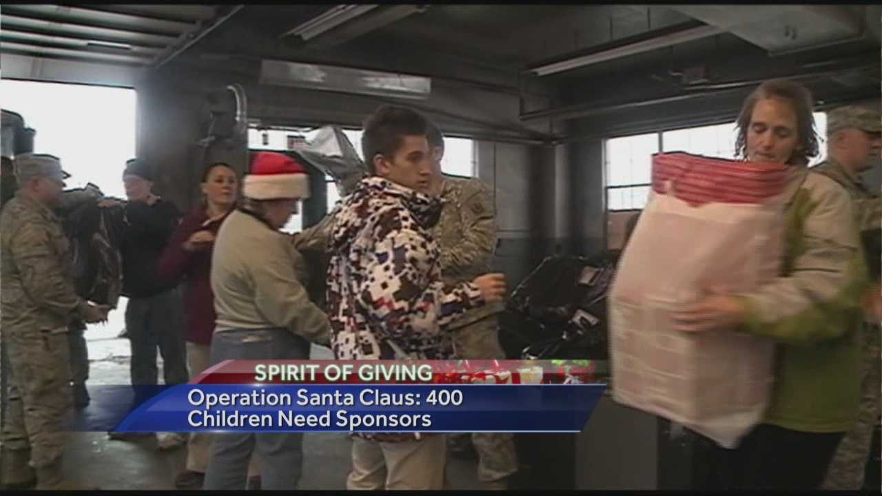 For more than 50 years, members of the State Employees' Association have helped needy children have a happy Christmas as part of Operation Santa Claus.