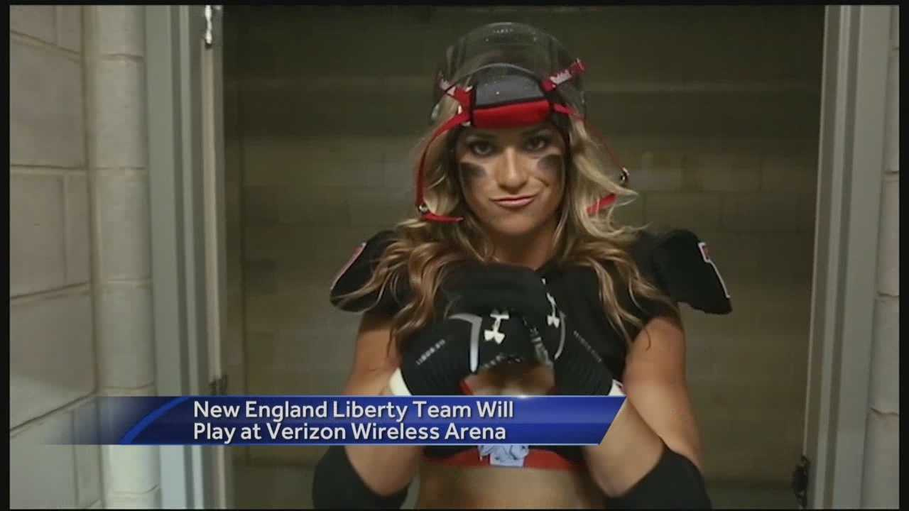 A new football league is coming to the Verizon Wireless Arena in Manchester, but the uniforms might not be what you expect.