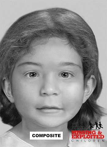This girl was found in a metal drum in the same area in 2000.