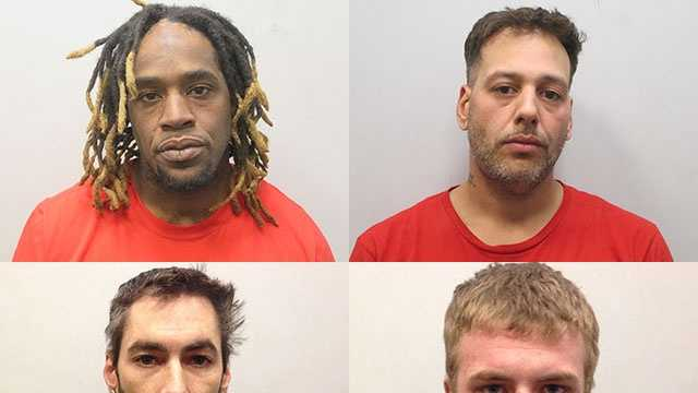 Four people were arrested in connection with an armed home invasion in Rochester on Tuesday night.