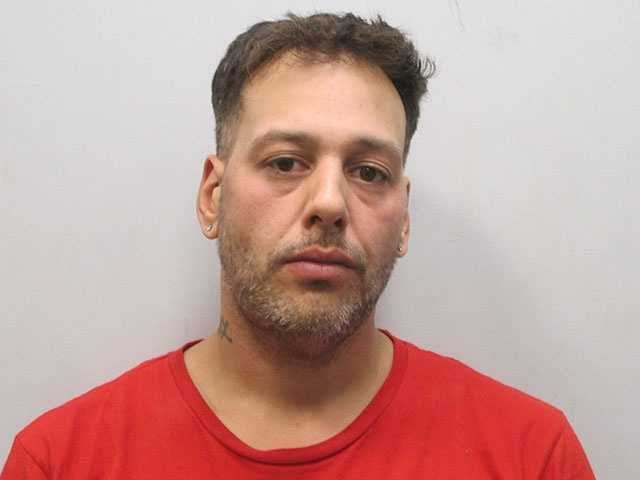 Giovanni Angel Monroe, 35, of Rochester, was charged with armed robbery and falsifying physical evidence. He also had a warrant for failing to appear in court. He refused bail and was being held at the Straffod County Jail.