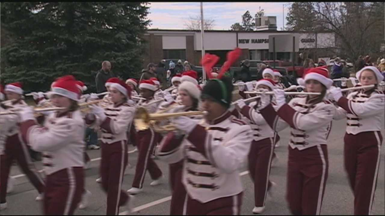 The parade kicked off on Hazen Drive around 9:30 a.m. and proceeded down Loudon Road.