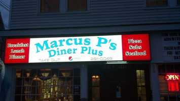 4. Marcus P's Diner Plus in Greenville