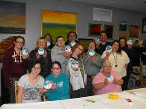 Special Olympians from the Berlin area have created ornaments for New Hampshire's tree that will be part of the National Christmas Tree display outside the White House this year.