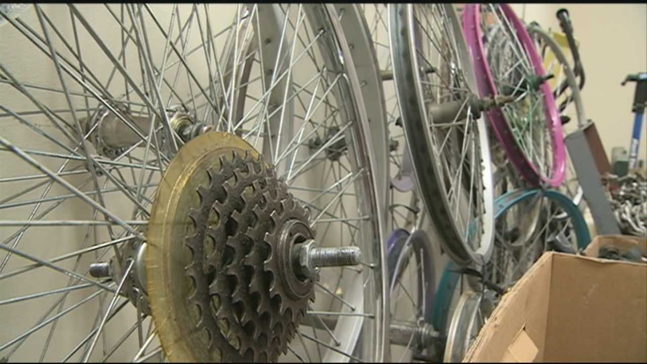 A unique non-profit organization, QC Bike Collective, is opening its doors to get people moving. WMUR's Jean Mackin shows us how.
