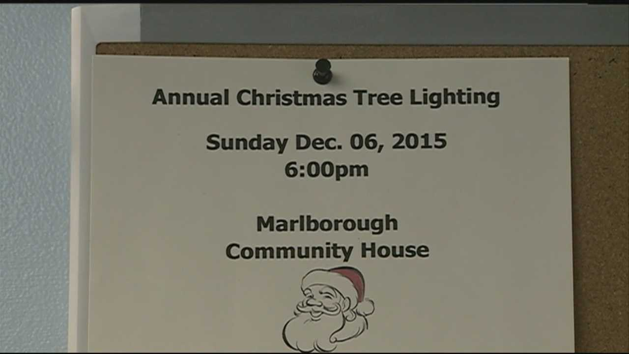 "Organizers of an annual Christmas tree lighting event in Marlborough said they were told to remove the word ""Christmas"" from the fliers they planned to distribute at school."