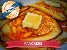 This week, we asked our viewers who serves the best pancakes in the Granite State. Take a look at the top responses!