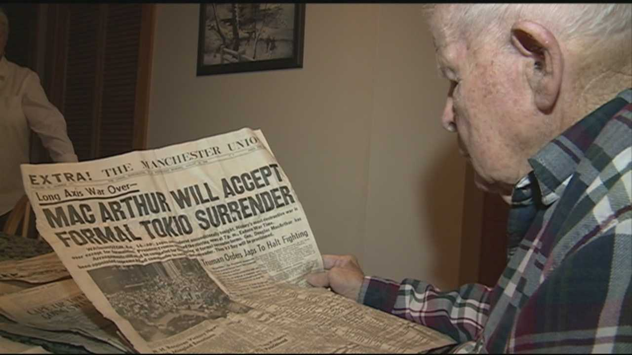 A time capsule has been opened by a 90-year-old man in Weare. WMUR's Jean Mackin has more.