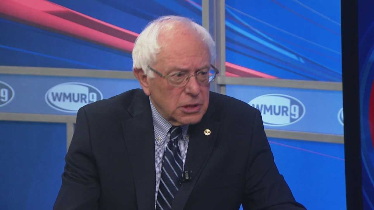 Democratic presidential candidate Bernie Sanders sits down with Josh McElveen on CloseUP.