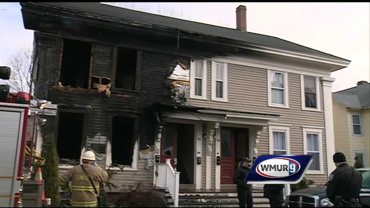 A man was killed in an early morning fire Friday at an apartment house in Concord.