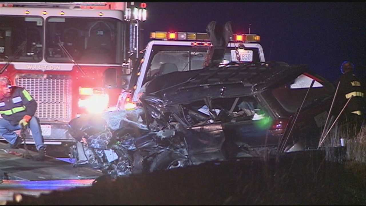 Two drivers killed during head-on collision in Wilton.