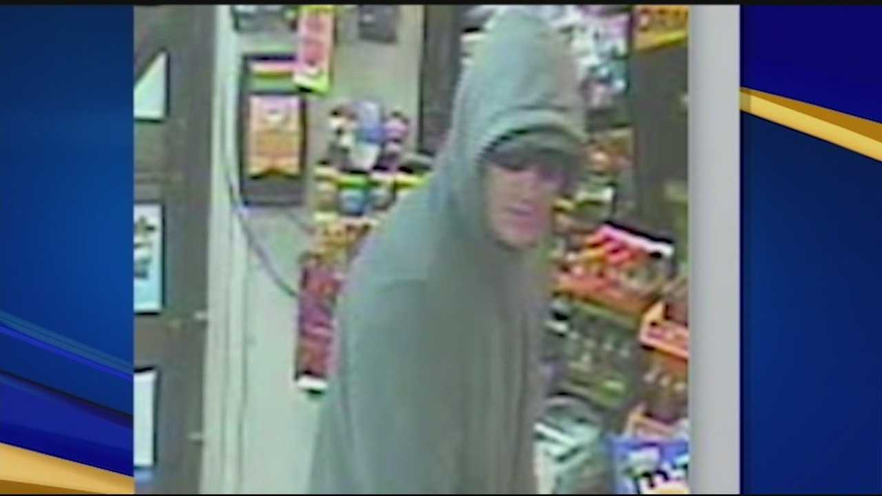 Franklin police are looking for a man who robbed a convenience store Monday evening.