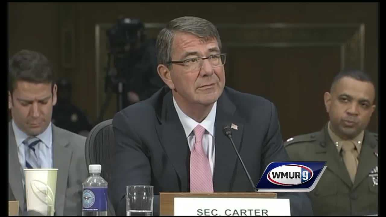 The U.S. defense secretary was questioned Wednesday about possibly increasing the U.S. military presence in Iraq during testimony before a committee that includes both New Hampshire senators.