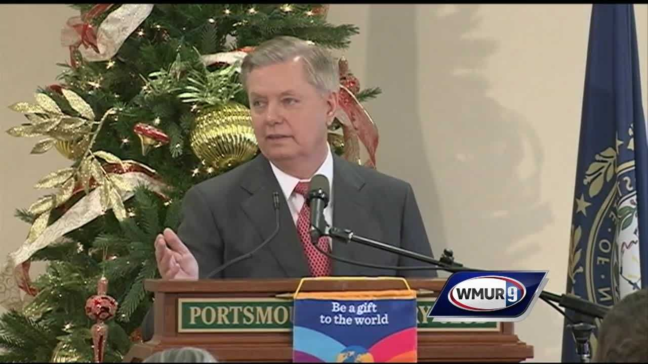 Republican presidential candidate U.S. Sen. Lindsey Graham called GOP candidate Donald Trump's plan to ban all Muslims from entering the country as the worst possible idea an American political leader could come up with.