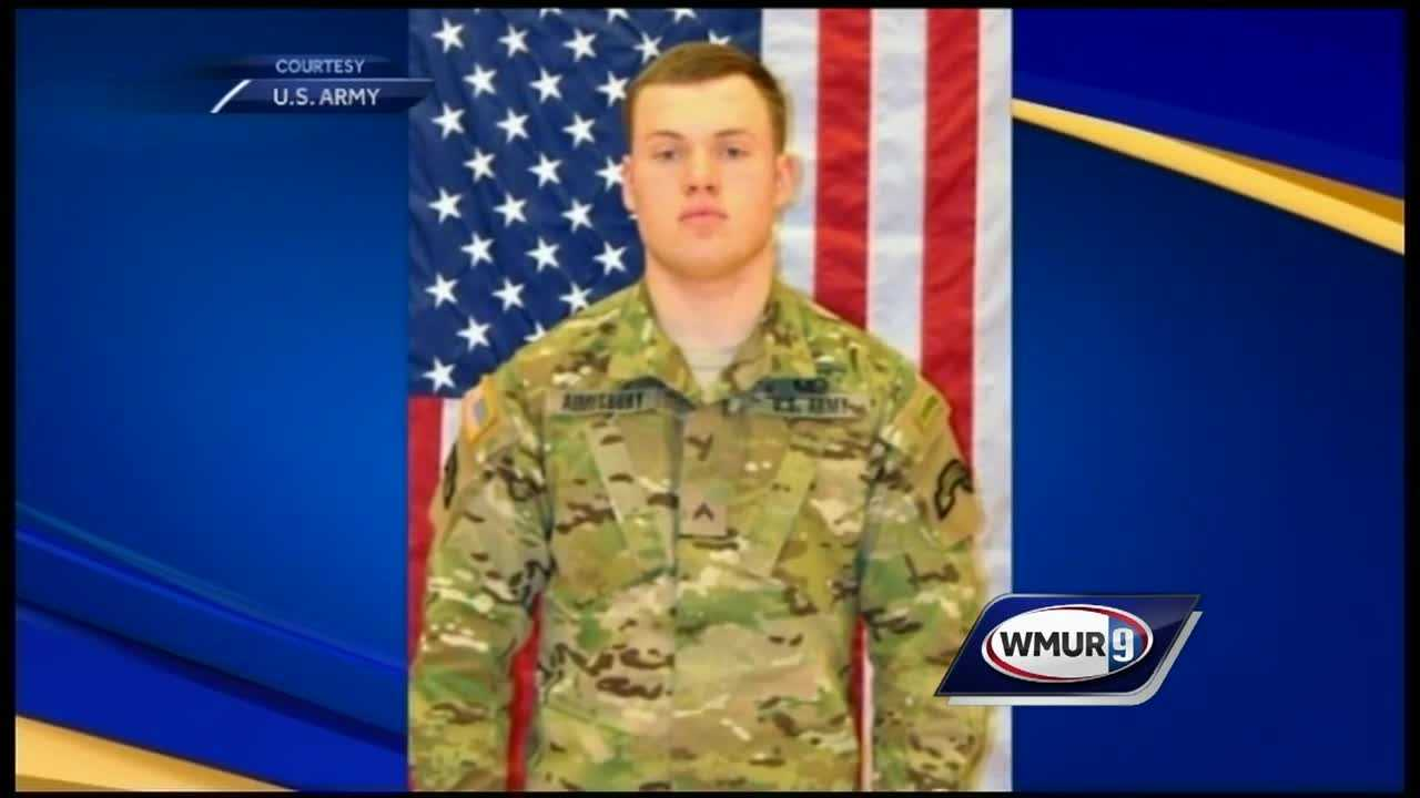 Mike Cronin's pkg on Andrew Aimesbury who was killed in a live-fire training accident.