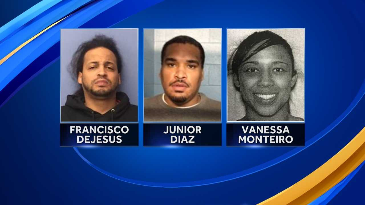 Two men and one woman from Massachusetts were arrested in connection with the sale of fentanyl and heroin in Rockingham County, New Hampshire.