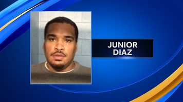Junior Diaz, of Lawrence, Massachusetts, was charged with conspiracy to commit related crimes. Diaz was released on $5,000 personal recognizance bail.