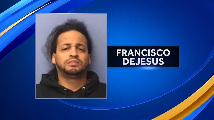 Francisco Dejesus, of Haverhill, Massachusetts, was charged with possession of a controlled drug with the intent to distribute. He is being held on $5,000 cash bail.