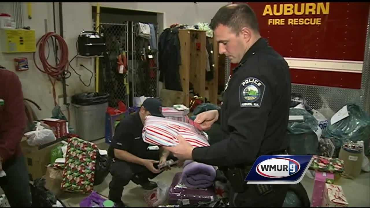 When first responders in Auburn asked the community to provide Christmas presents for families in need, the response and generosity was overwhelming.
