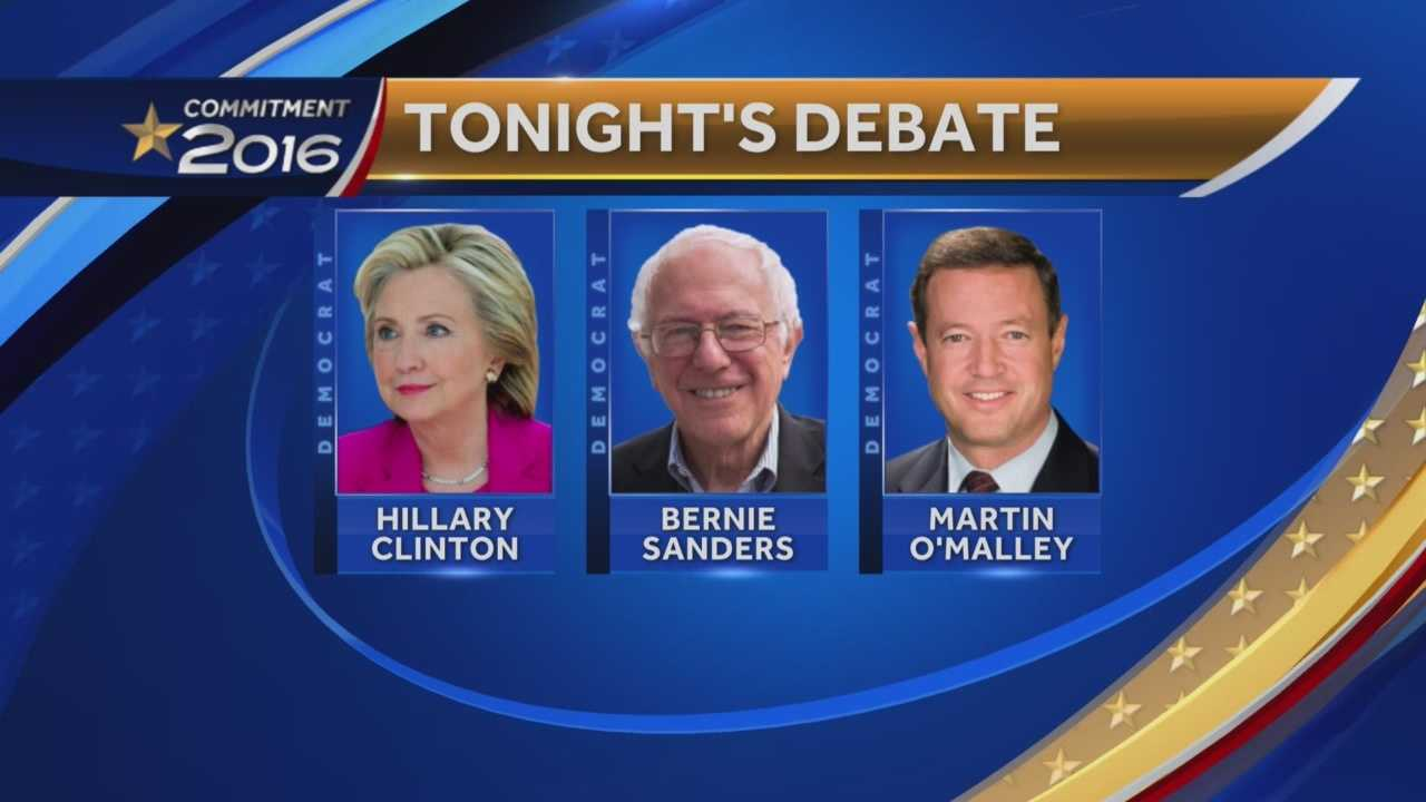 The Democratic presidential candidates are set to debate Saturday night in Manchester with about seven weeks to go before the New Hampshire primary.