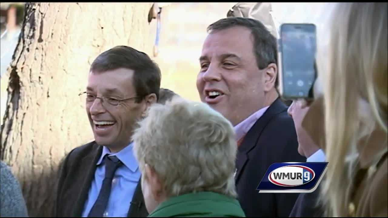 New Jersey Gov. Chris Christie is on a four-day bus tour through the Granite State this week.