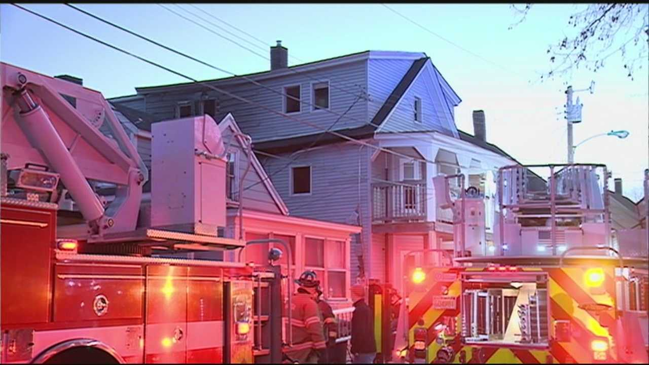 More than a dozen people were displaced after a two-alarm fire in Nashua Sunday.