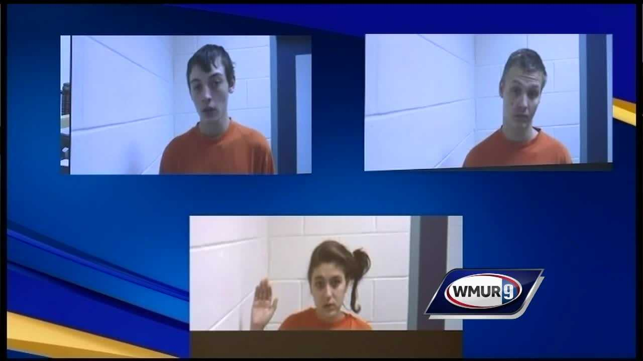 Three people accused of being involved in a home invasion in Franklin appeared in court Monday.