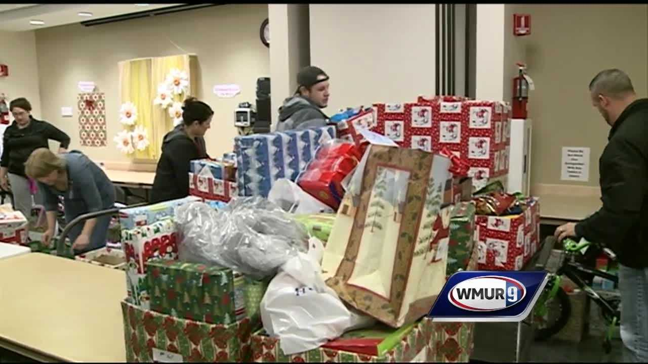 For 56 years, employees at St. Joseph's Hospital in Nashua have been helping families in need have a wonderful Christmas with its Christmas Basket Project.