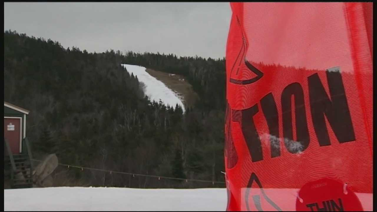 Record high numbers on the thermometer have translated to record lows at New Hampshire ski areas.