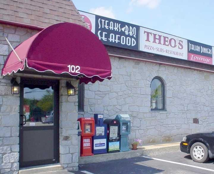 4 tie. Theo's Pizza Restaurant in Manchester