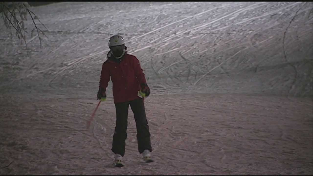 Area ski resorts welcomed the fresh snow Tuesday after a slow start to the season. WMUR's Jean Mackin reports.