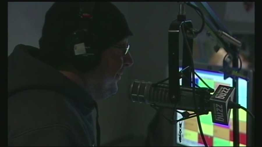"Andy Blacksmith, a longtime voice on the ""Greg and the Morning Buzz"" radio show, passed away while waiting for a heart transplant. Read more: http://www.wmur.com/news/beloved-radio-personality-andy-blacksmith-remembered-at-funeral/33799096"