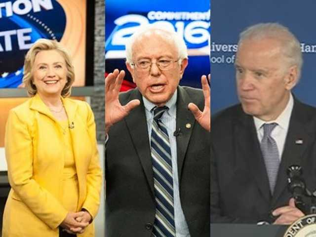 On the Democratic side, a few break-out stories included Hillary Clinton's email scandal, the rise of Bernie Sanders and Joe Biden's decision not to enter the race.
